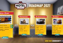 Road map dla Hotel Renovator Two Horizons