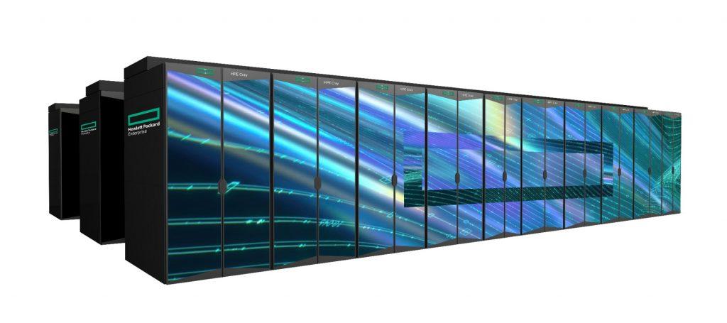 HPE Cray EX supercomputer